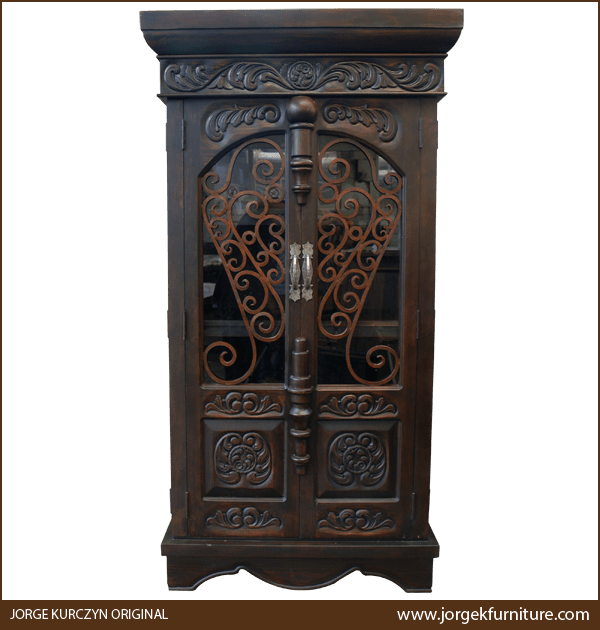 Arizona Hacienda Kitchen Cabinets: Armoires Arm11a