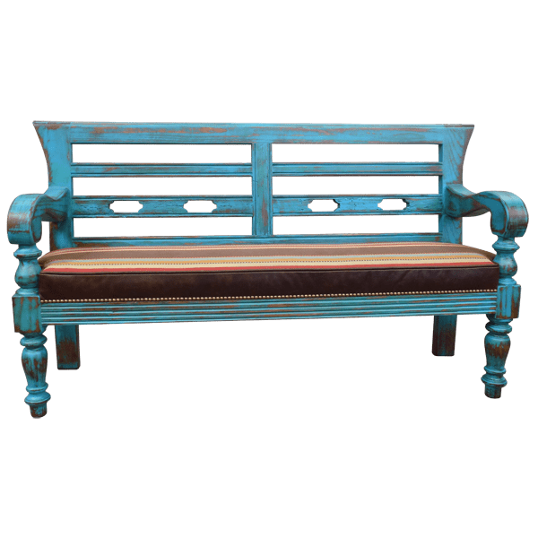 Western Fabric Benches bch33